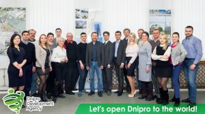 The team of the Dnipro Development Agency