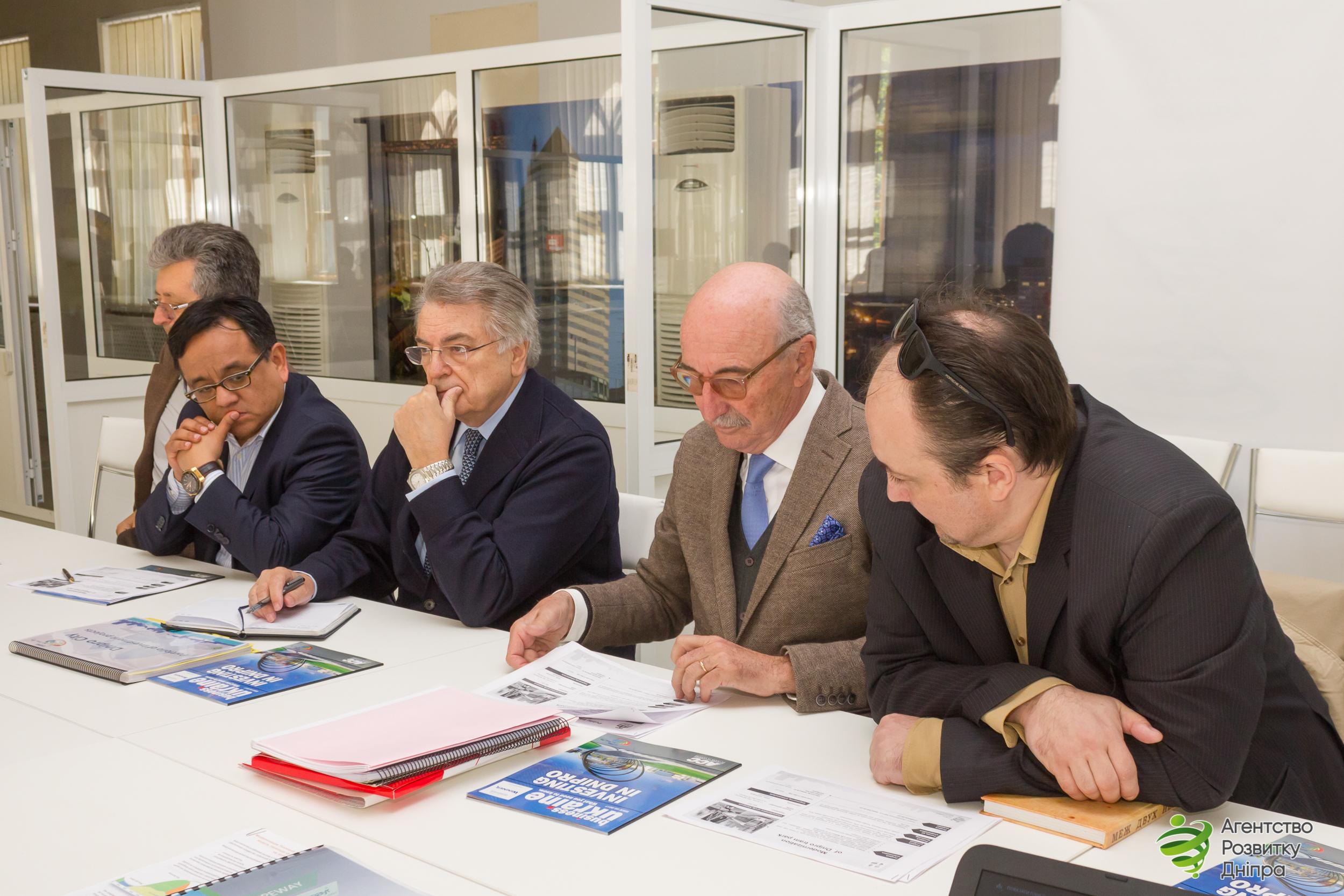 Іспанські інвестори зацікавилися інвестиційним потенціалом м.Дніпро
