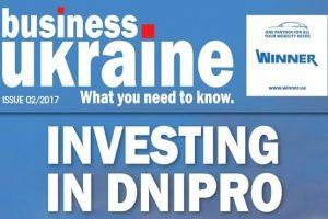 INVESTING IN DNIPRO – Business Ukraine magazine issue