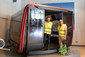 Гондола пасижироемністю 30 пасажирів