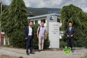 З Mauro Burato - біля головного офісу компанії LEITNER