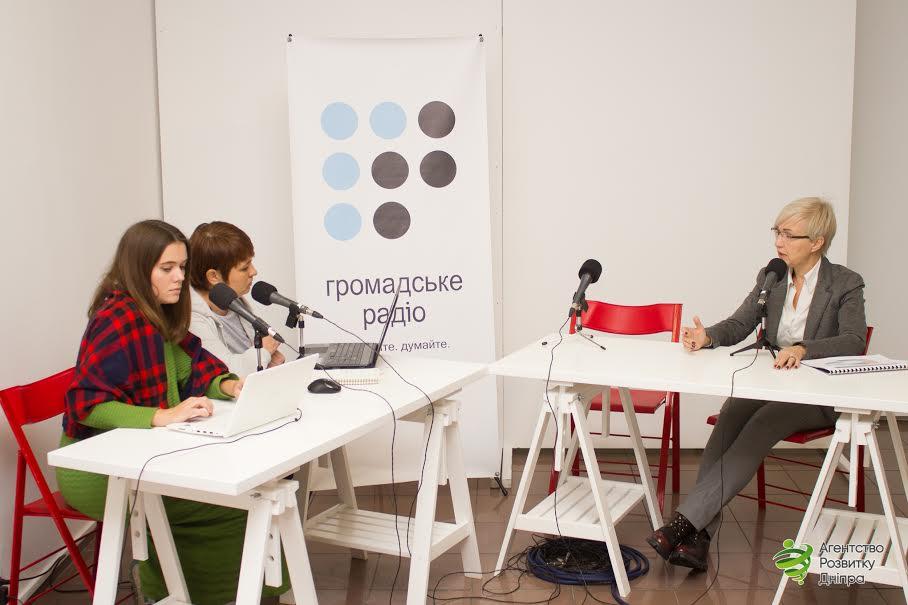 Індустріальний парк у Дніпрі став головною темою обговорення під час прямого ефіру на «Громадському радіо»