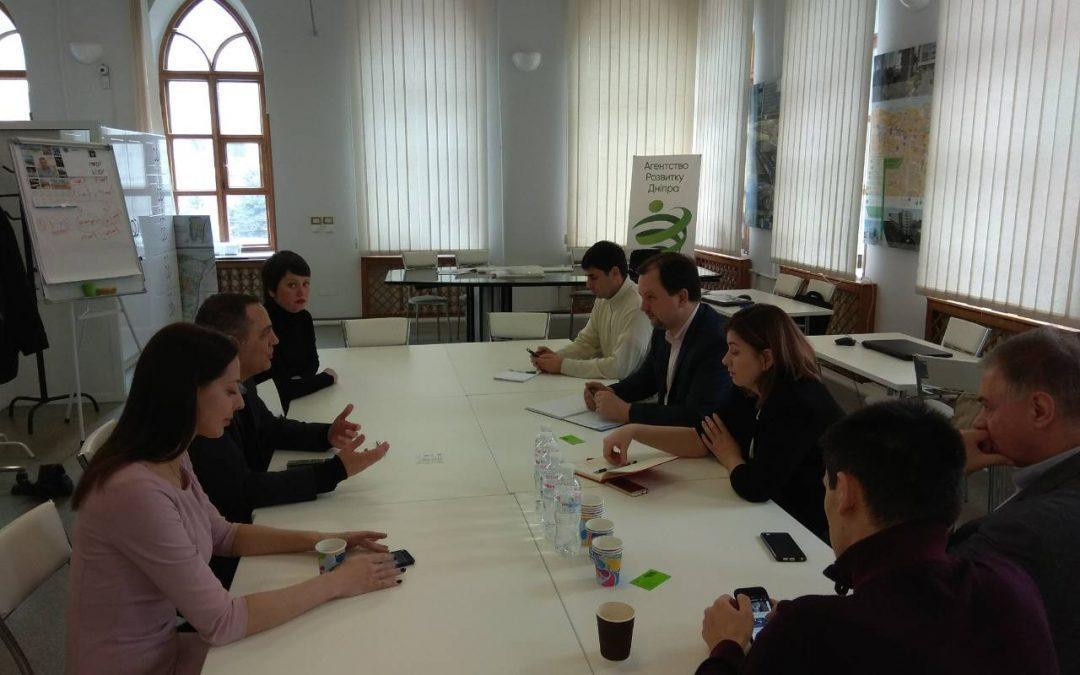 До розробки стратегії розвитку міста Дніпро долучиться візіонер із світовим ім'ям Ден Андерсон