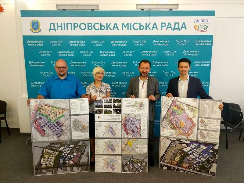 Проект створення індустріального парку «INNOVATION FORPOST» презентували депутатам Дніпровської міської ради