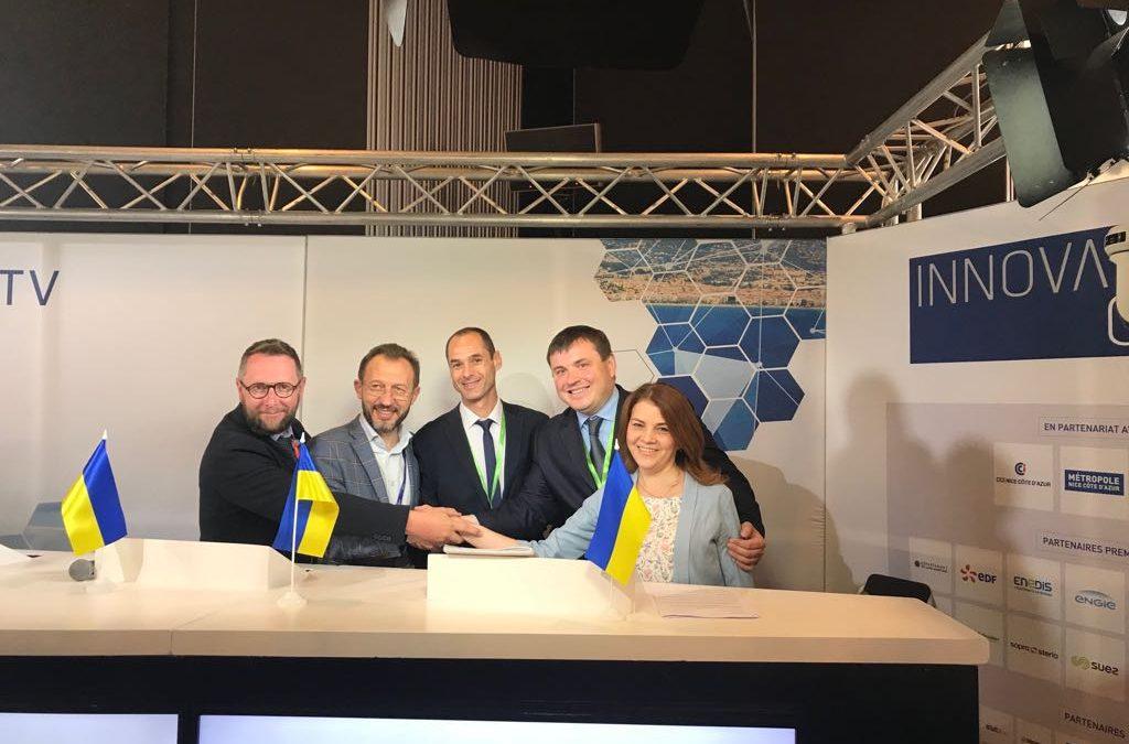 Інвестиційні можливості м. Дніпро презентували на міжнародному салоні «Innovative City» у м. Ніцца (Франція)