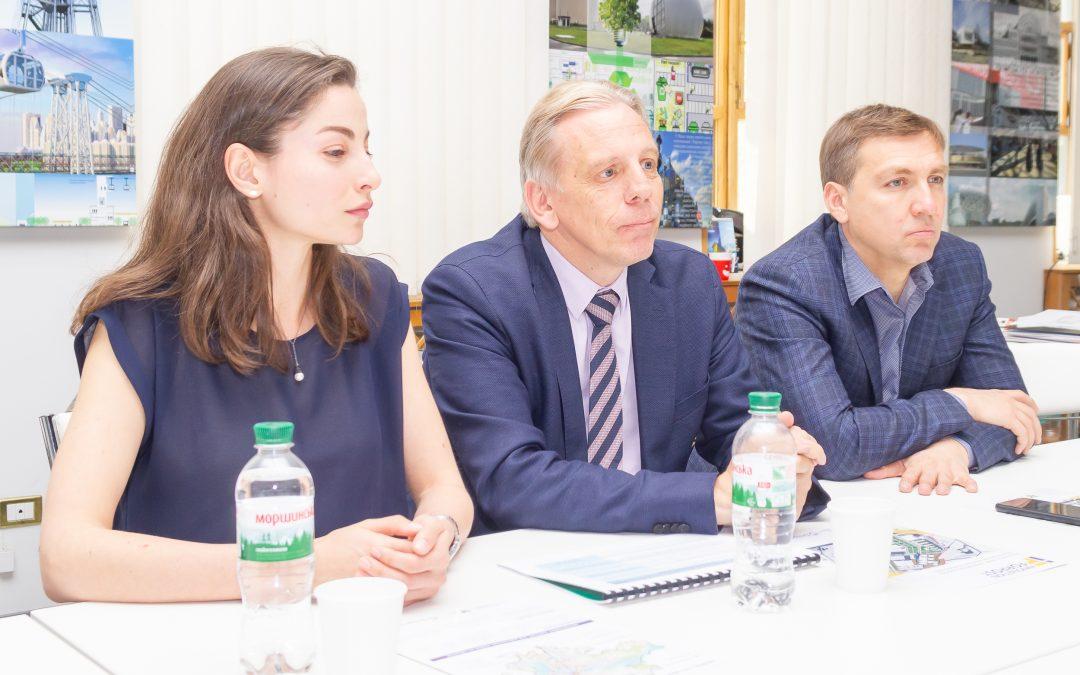 Зустріч з Надзвичайним і Повноважним Послом Королівства Бельгія в Україні Алексом Ленартсом