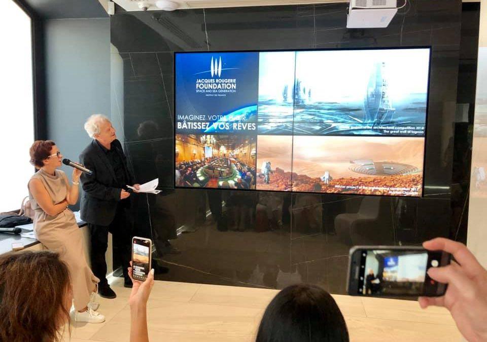 Місто Дніпро: шлях до мрії. Світова зірка архітектури Жак Ружері (Франція) завітає до м. Дніпро