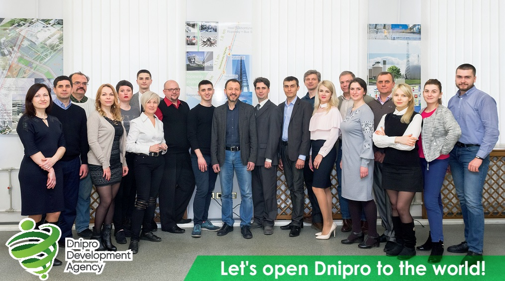 Dnipro Development Agency aims to improve city's international brand appeal and plans to focus attention on attracting both domestic and international investors
