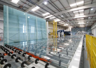 Float glass factory